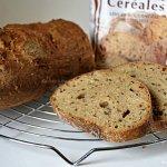 Recette du pain rustique aux céréales de la marque Mon Fournil® farine offerte lors d'un partenariat - Kaderick en Kuizinn©