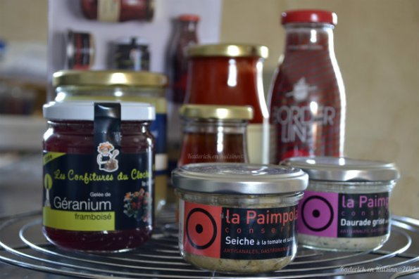 Produits régionaux de la Box CookUp avec de la gelée de piment d'Espelette - Kaderick en Kuizinn©