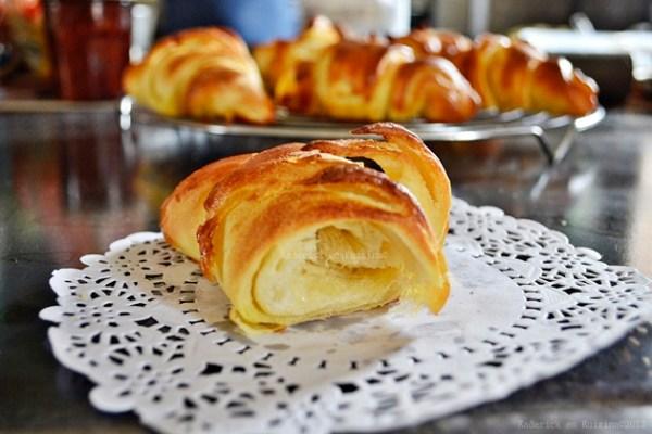 Recette des croissants feuilletés pur beurre avec une recette facile à faire - Kaderick en Kuizinn©