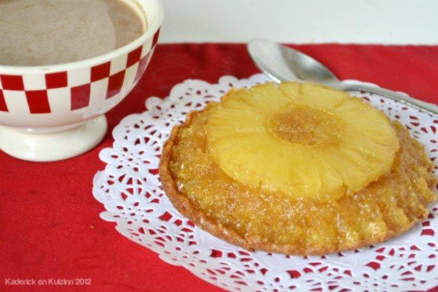 Recette du gateau renversé à l'ananas caramélisé pour un joli souvenir d'enfance - Kaderick en Kuizinn©