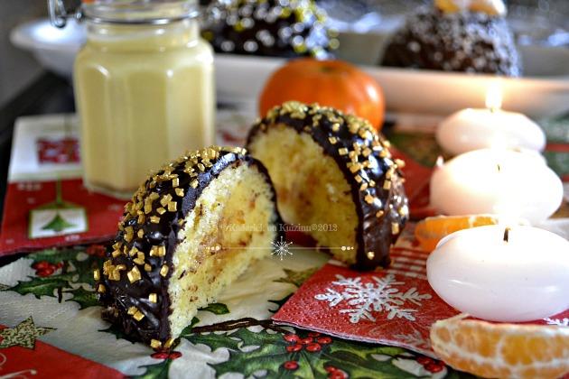 Buche de Noël au chocolat et clémentines curd - Kaderick en Kuizinn©2012