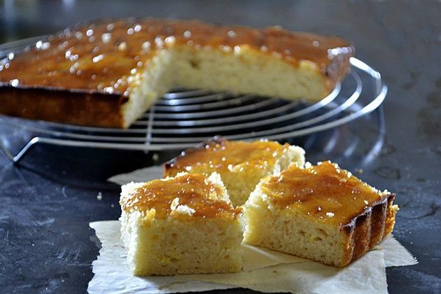 G teau citron lait iben caramel de citron recette f te - Gateau avec du lait et des oeufs ...