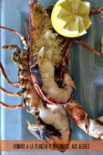 Cuisine plancha - Dégustation du homard breton à la plancha & mayonnaise aux algues - Kaderick en Kuizinn©2013