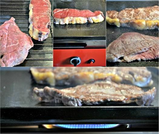 partenariat Verycook - Préparation et cuisson du faux filet de boeuf à la plancha verycook offerte pour un partenariat - Kaderick en Kuizinn©2013