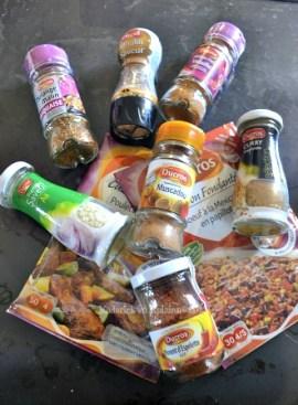 Produits offert par Ducros pour un partenariat qui m'a servi de condiment pour mon magret - kaderick en Kuizinn©2013