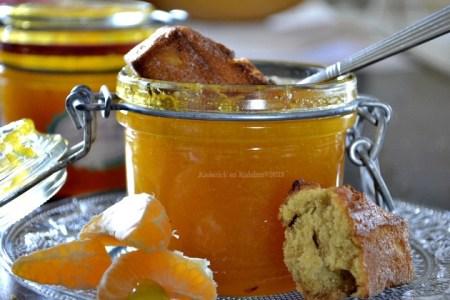 Recette de la confiture épaisse à la clémentine bio corse une merveille de gourmandise avec un gout de miel - Kaderick en Kuizinn©2013
