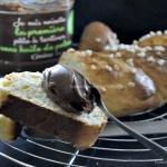 Recette de la brioche tressée mon fournil au sucre perlé & pâte à tartiner de Casino sans huile de palme - Kaderick en Kuizinn©2013