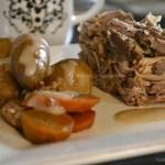 Recette carré de porc & légumes bio à la mijoteuse pour la cuisine de bistrot - Kaderick en Kuizinn©2013