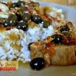 Recette du roti de dinde à la basquaise avec des poivrons congelé de cet été, des olives du jardin, des tomates confites, du soleil - Kaderick en Kuizinn©2013