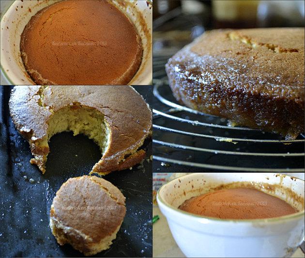 Recette pouding chômeur traditionnel du Québec, voici le défi culinaire que m'a lancé JuliaT - Kaderick en Kuizinn©2013