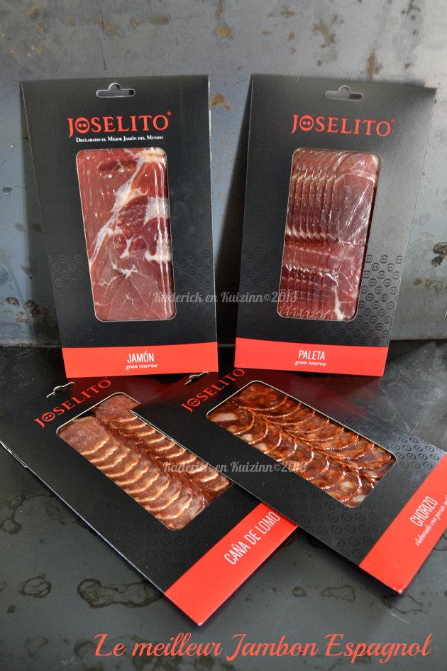 Partenariat avec Jamoteca® et Joselito® le meilleur jambon espagnol - Kaderick en Kuizinn©2013
