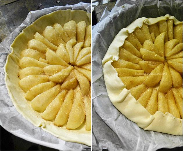Recette tarte à l'ancienne aux poires bio pour un dessert simple et terriblement bon - Kaderick en Kuizinn©2013