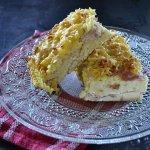Recette gratin ou flan de pâtes au jambon pour une recette du placard ou de restes - Kaderick en Kuizinn©2013