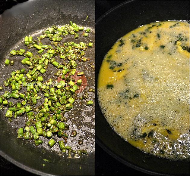 omelette asperges vertes fines bio recette de cuisine facile. Black Bedroom Furniture Sets. Home Design Ideas