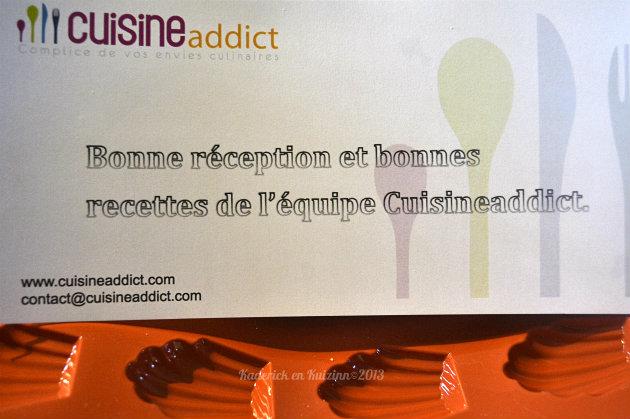 Moule à madeleine et toile exopat en partenariat avec la boutique Cuisine Addict - Kaderick en Kuizinn©2013