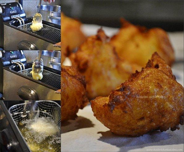 recette des pommes dauphine fait maison avec une purée de pommes de terre et de la pâte à choux - Kaderick en Kuizinn©