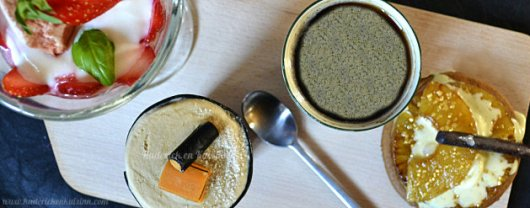 Recette du cafe gourmand avec un soufflé glacé à la réglisse pour le thème de Culino Versions - Kaderick en Kuizinn©