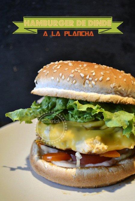 Hamburger de dinde la recette plancha
