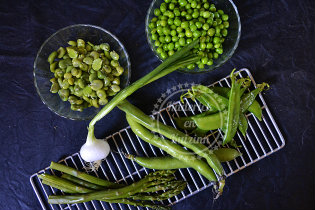 Légumes verts en ingredients de la recette Culino Versions