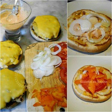 Recette cuisine plancha hamburger de dinde