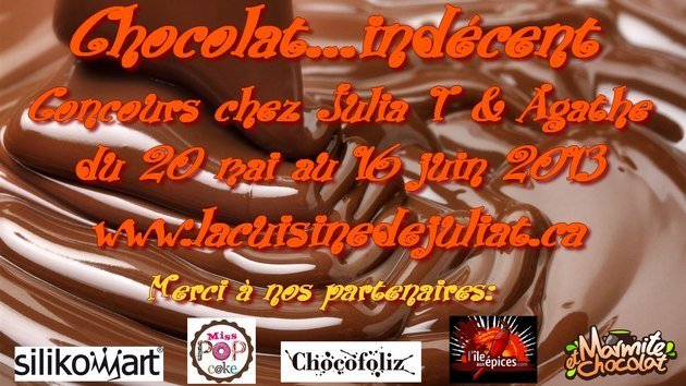 concours chocolat indecent chez Julia & Agathe