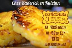 Anniversaire pour les 3 ans de mon blog culinaire, j'organise un concours