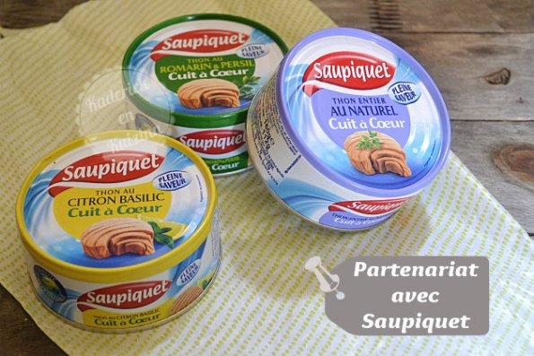 Partenariat avec la marque de thon Saupiquet - Recette de cuisine