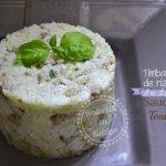 Timbale de riz à la saucisse de Toulouse - Recette de cuisine faites avec des restes de riz Sri lankais