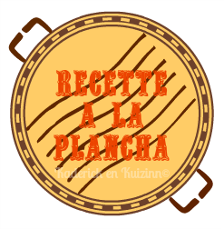 Recette plancha avec son badge