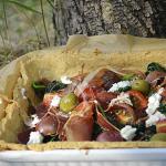 Recette tarte à la brousse Corse, épinards bio pour Culino Versions