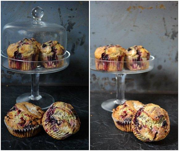 Dégustation des muffins facile aux fruits rouges pour un goûter sain et gourmand