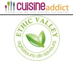 Logo cuisine addict ethic valley