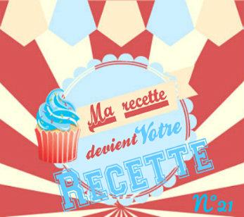 logo du blog en catégorie ma recette devient votre recette N°21