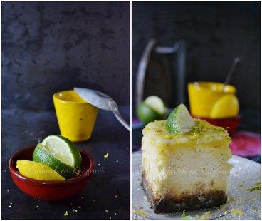 Cheesecake aux spéculoos, aux 2 citrons et lemon curd pour Culino Versions