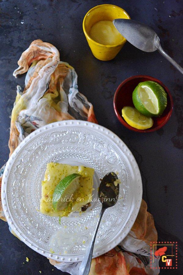 Dégustation cheesecake spéculoos, citron et lemon curd pour Culino Versions