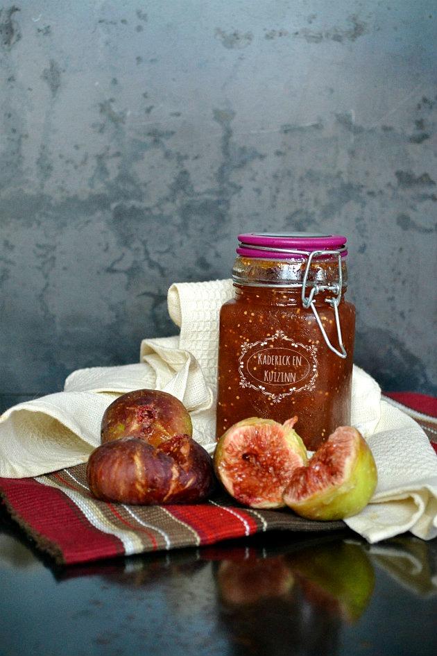 confiture figues du jardin recette cuisine kaderick en kuizinn