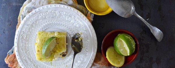 Présentation cheesecake aux 2 citrons et lemon curd pour Culino Versions