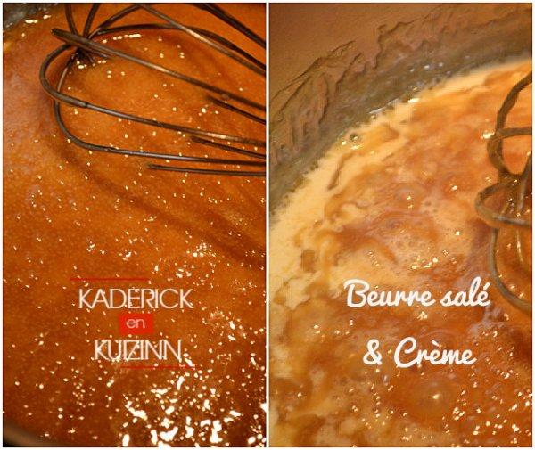 Cuisson recette caramel au beurre salé fait maison