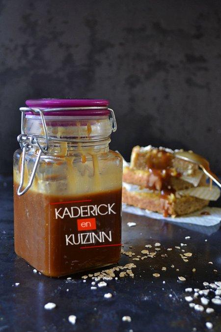 Dégustation du caramel au beurre salé fait maison