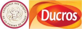 Logo partenariat la confrérie des toqués et ducros