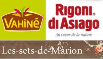 Logo partenariat vahine rigoni di asiago les sets de Marion