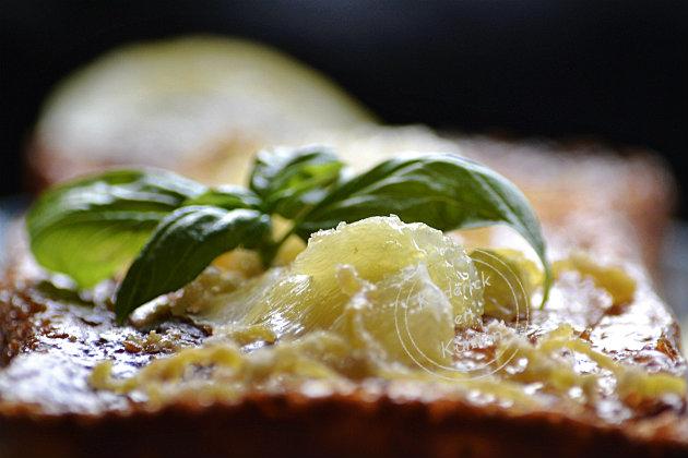 Recette du cake au citron et segments au citron confit