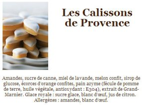 Calissons Provence