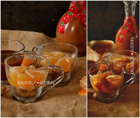 Ingrédients trifle de clémentines et caramel beurre salé aux noisettes - recette confort food