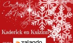 Logo du concours noël chez kaderick en kuizinn avec zalando
