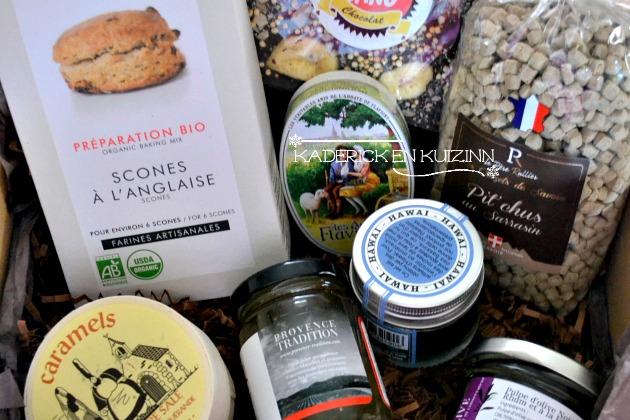 Partenariat Gourmibox produits artisanaux contenu dans la box
