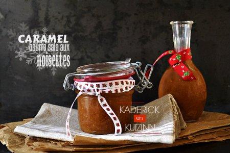 Recette caramel au beurre salé aux noisettes torréfiées bio - cadeaux gourmands