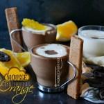 Recette express mousse aux 2 chocolats, orange et crêpes dentelles - dessert au chocolat