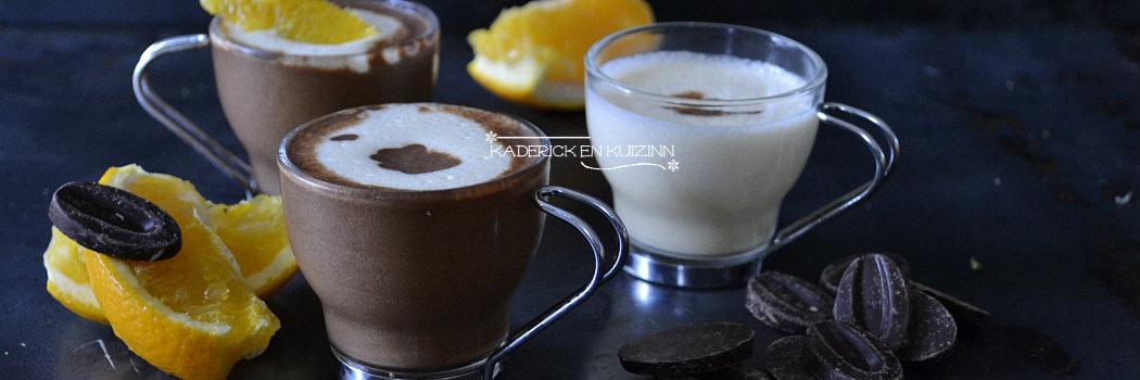 Slider recette express mousse 2 chocolats, oranges et crêpes dentelles