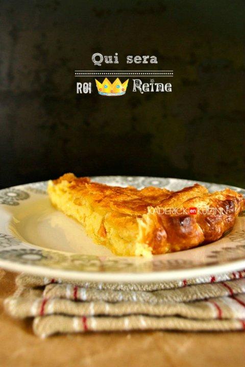 Dégustation galette des rois à la crème frangipane recette chef Simon - recette d'épiphanie